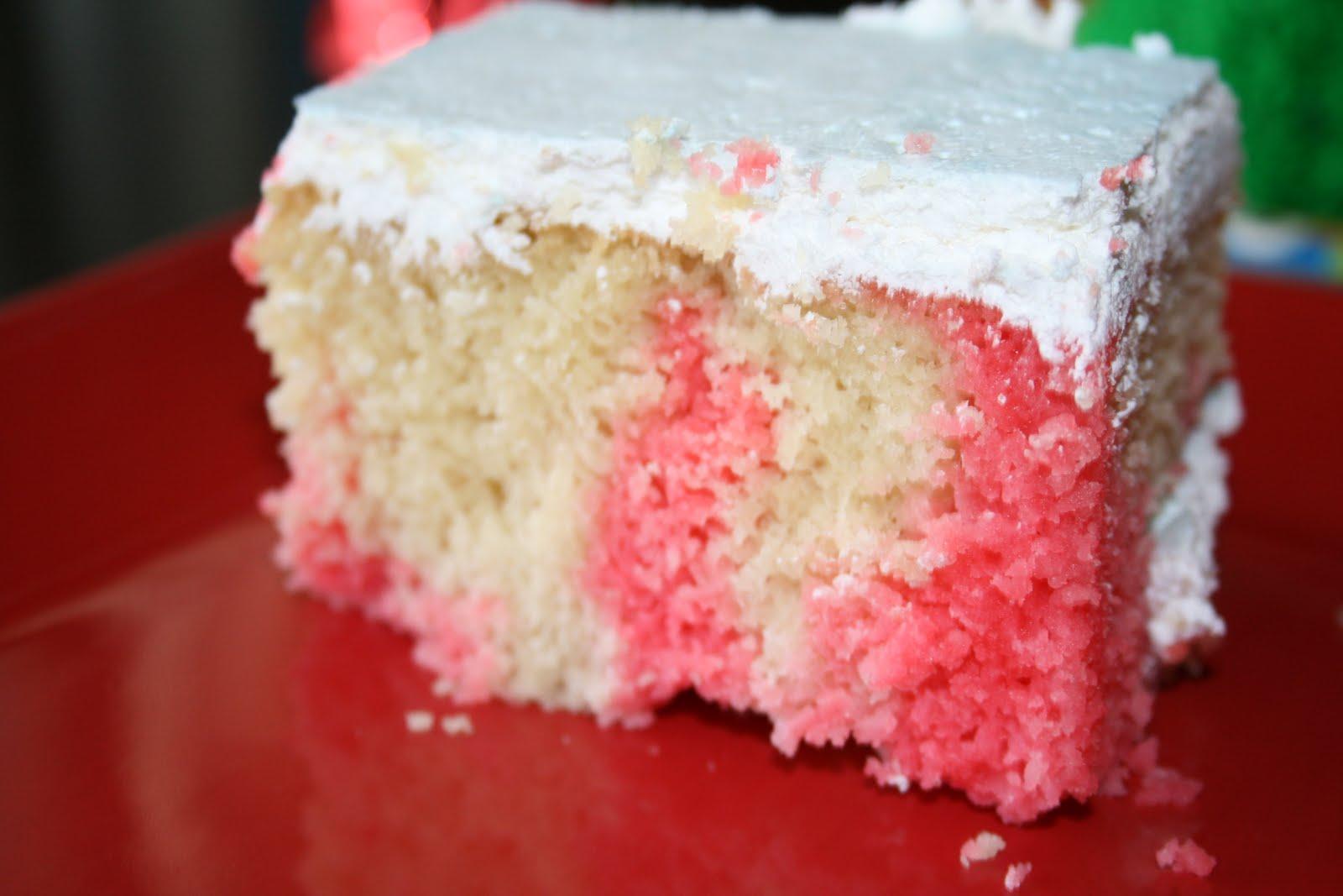 Gluten Free Jello Poke Cake Recipe