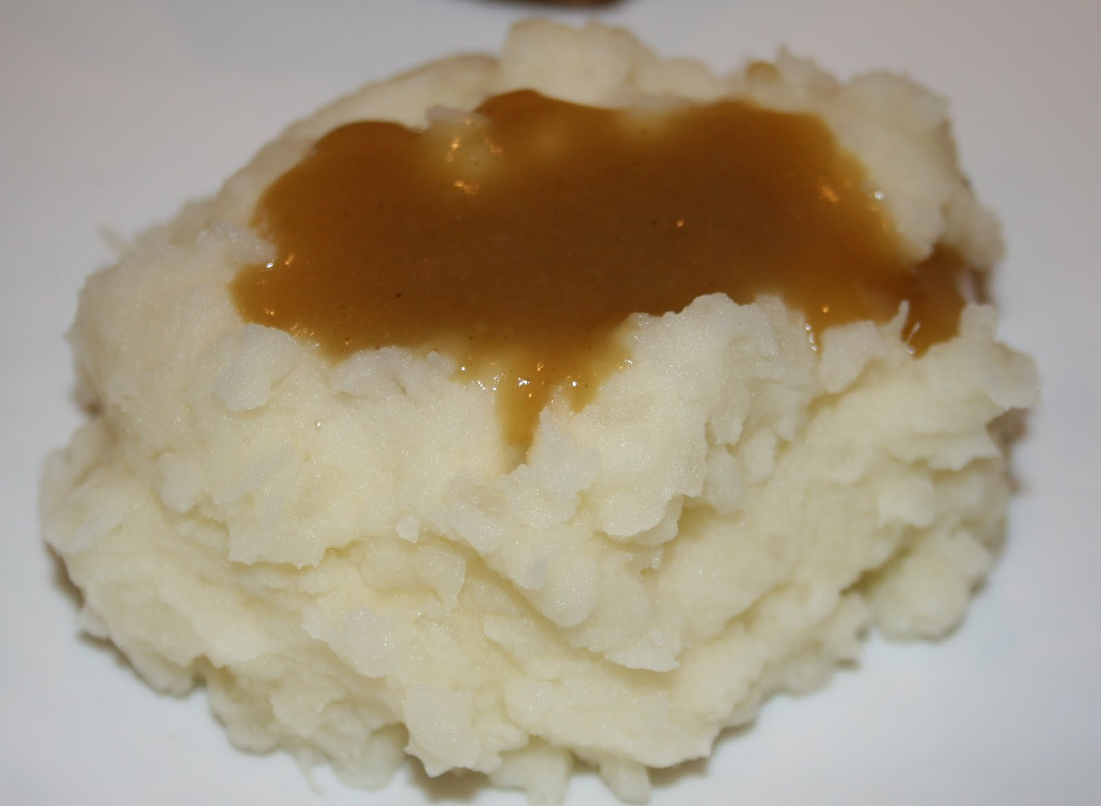 Mashed Potatoes with Gravy