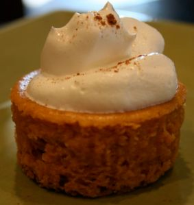pumpkin cheesecake 1