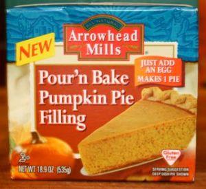 Pour n' Bake Pumpkin Pie Filling