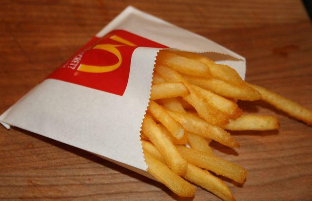 how to make fries crispy again