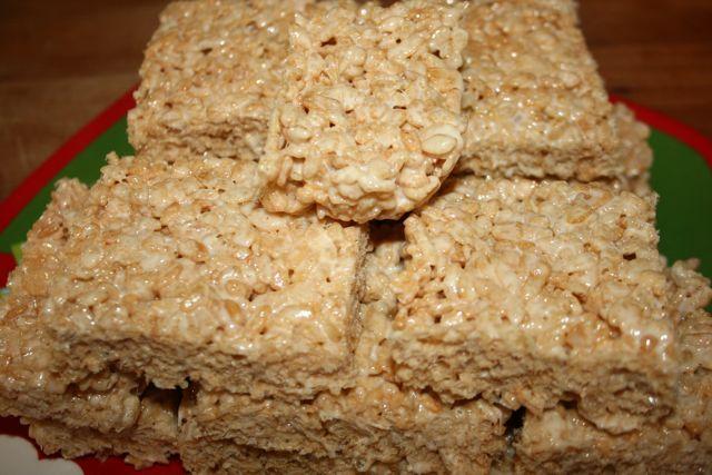 "Gluten Free Rice ""Krispie"" Treats"