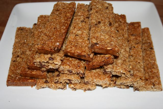 Gluten-Free Chewy Chocolate Chip Granola Bars | Adventures of a Gluten ...